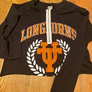 PINK Longhorns Tailgate Shirt